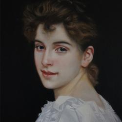 Portrait de Gabrielle Cot