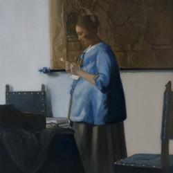Femme-en-bleu